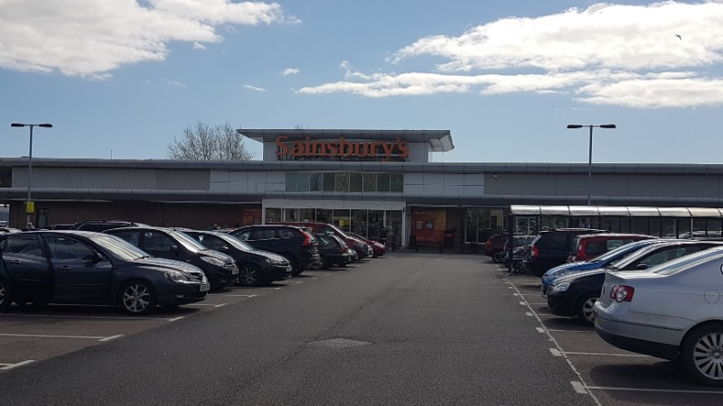 Sainsbury's at Garthdee Retail Park, Aberdeen