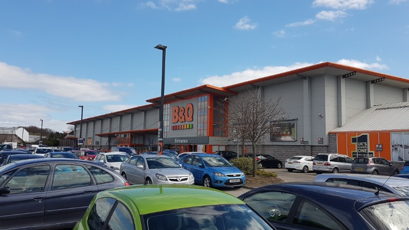 B&Q at Garthdee Retail Park, Aberdeen