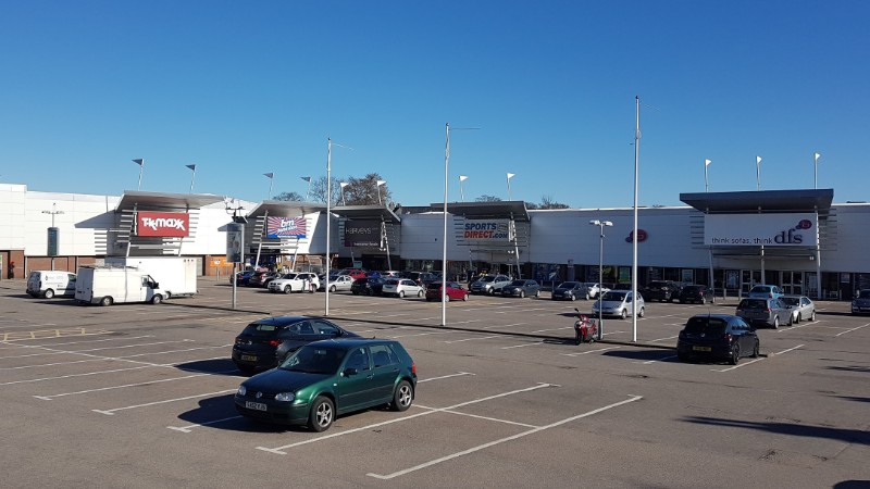 Shops at Kittybrewster Retail Park