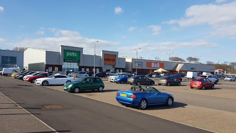 Westway Retail Park, Arbroath
