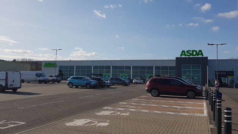 Asda supermarket, Arbroath