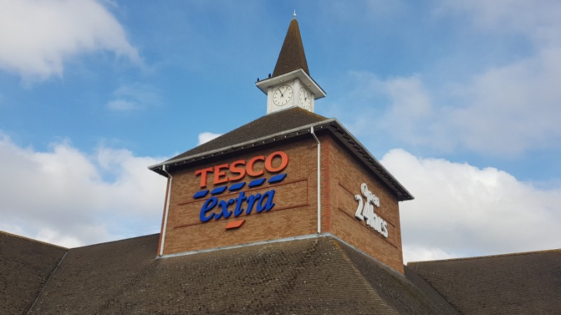 Tesco at Banbury Cross Retail Park