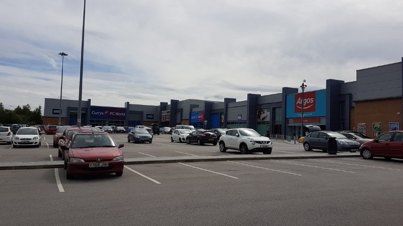 The Peel Centre Retail Park, Barnsley