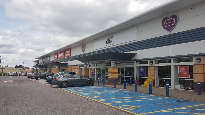 DFS at Brighton Hill Retail Park, Basingstoke