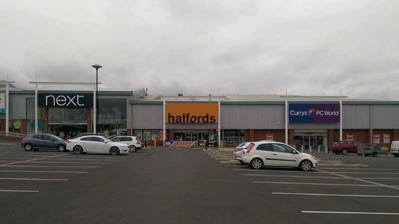 Tweedbank Retail Park