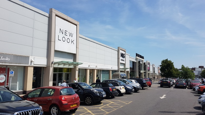 New Look and M&S Foodhall at Borehamwood Shopping Park