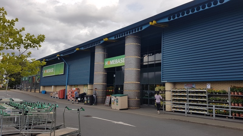 Homebase at St Edmundsbury Retail Park
