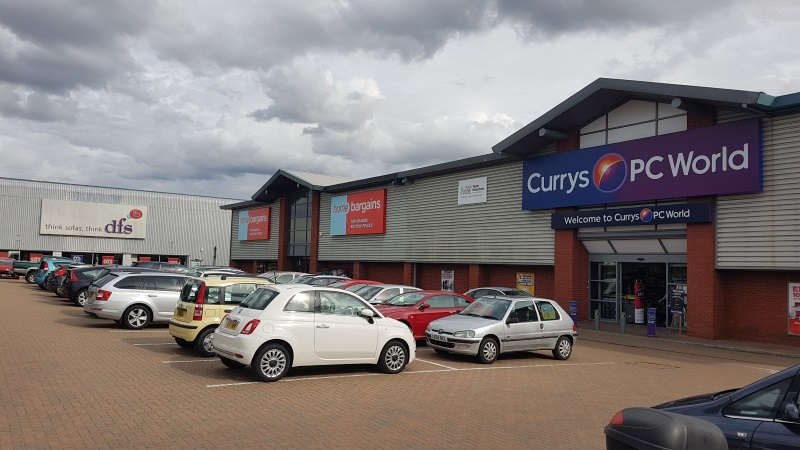 Currys PC World and Home Bargains