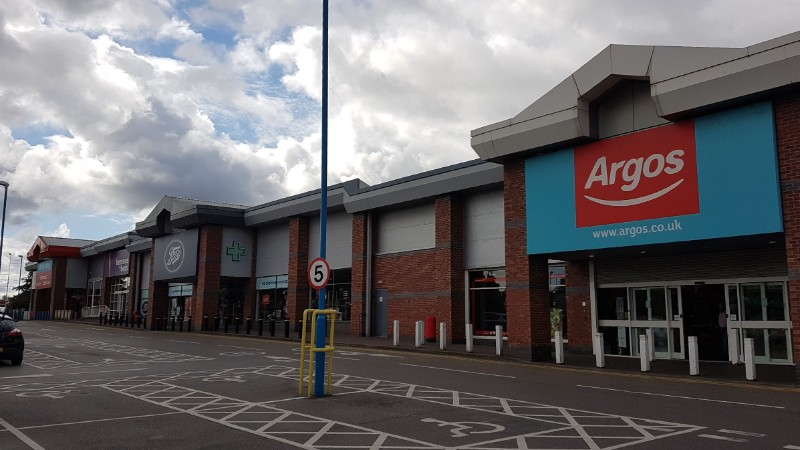 Argos and Boots at Orbital Retail Park