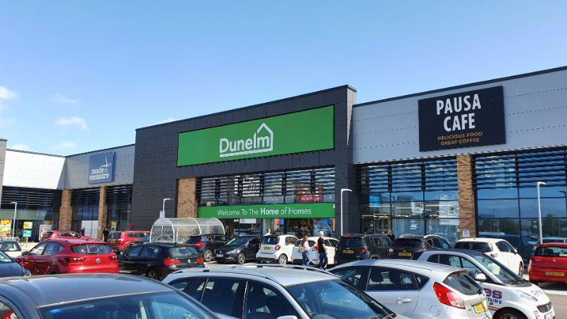 Chelmsford Clock Tower Retail Park Dunelm