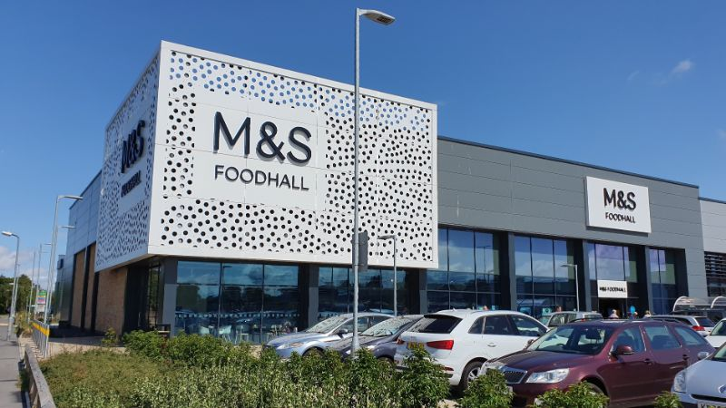 Chelmsford Clock Tower Retail Park M&S Foodhall