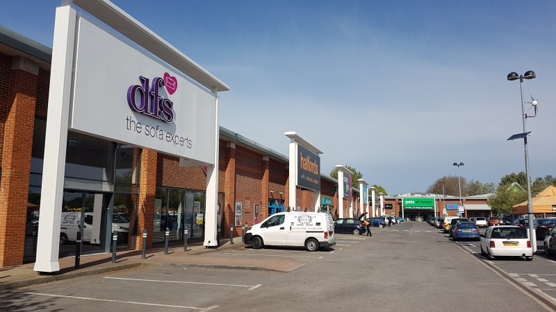 Christchurch Retail Park shops