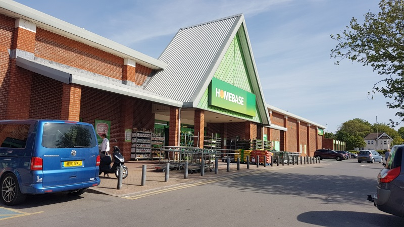 Homebase at Christchurch Retail Park