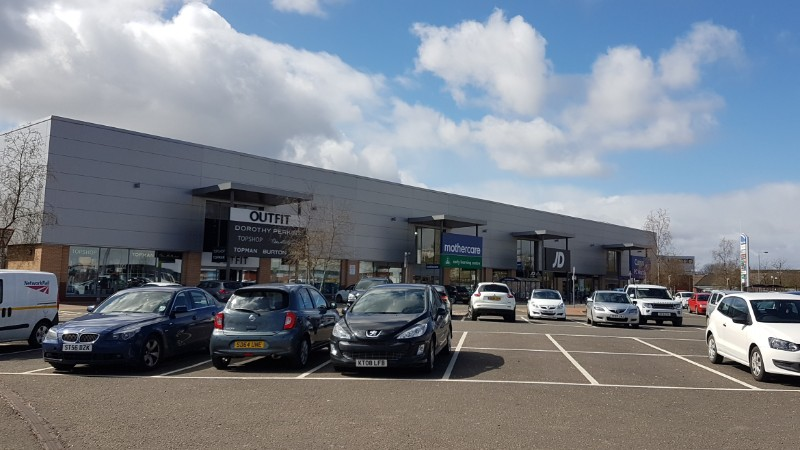 Shops at Faraday Retail Park, Coatbridge
