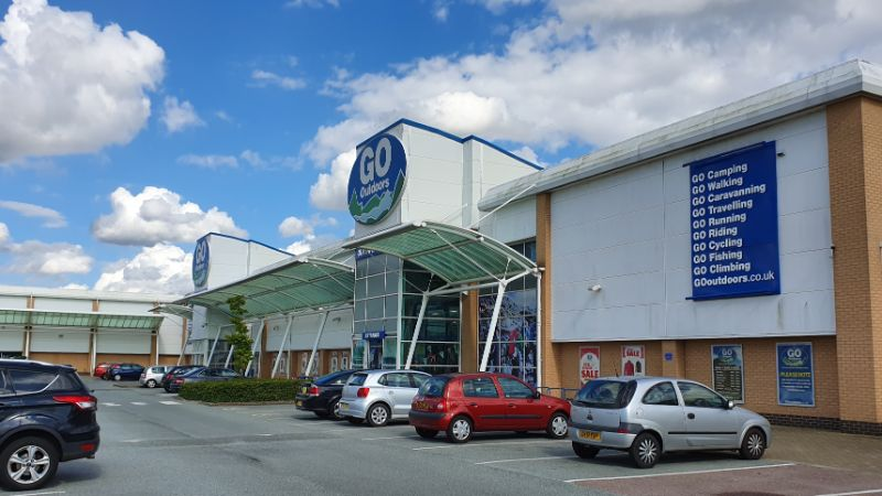 Go Outdoors at Turner Rise Retail Park, Colchester