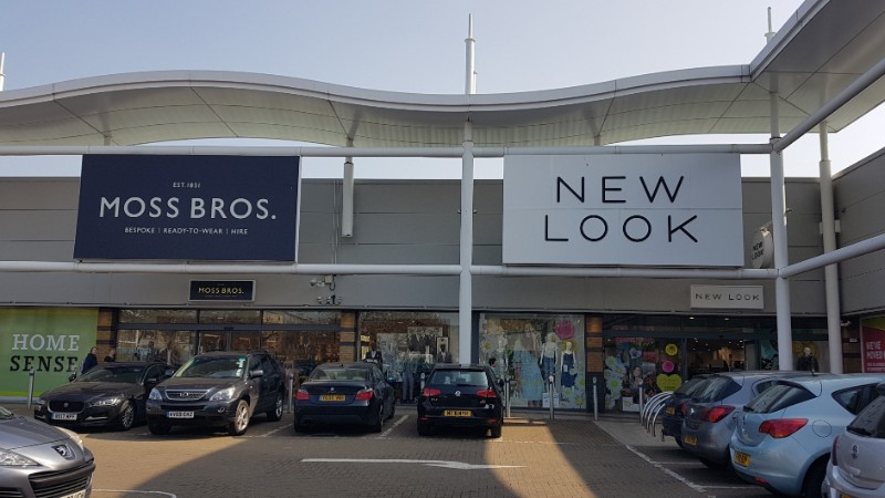 Moss Bros and New Look