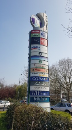 Tandem Centre sign