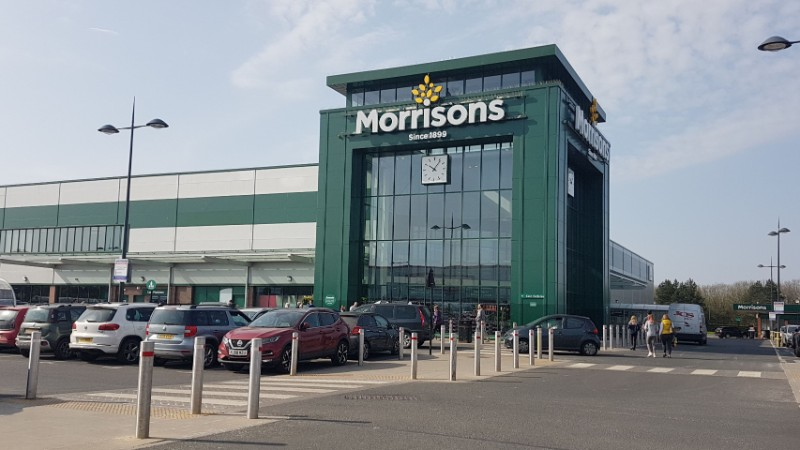 Morrisons at Hermiston Retail Park, Consett