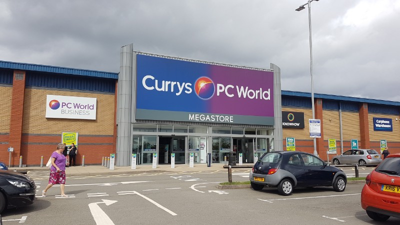 Currys PC World at Airport Retail Park, Coventry