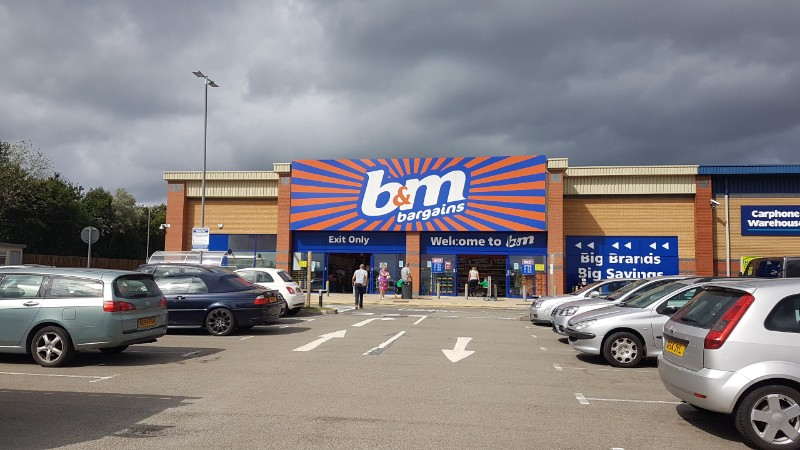 B&M Bargains at Airport Retail Park, Coventry