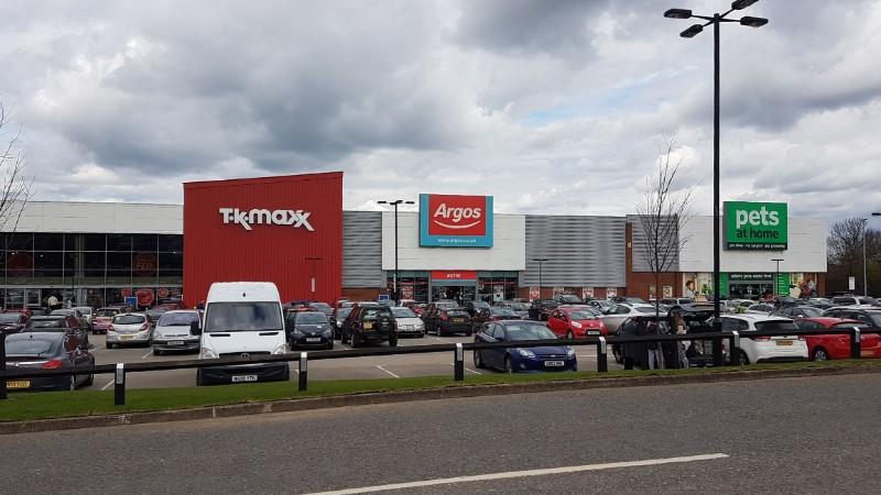 TK Maxx, Argos and Pets at Home at Kingsway Retail Park