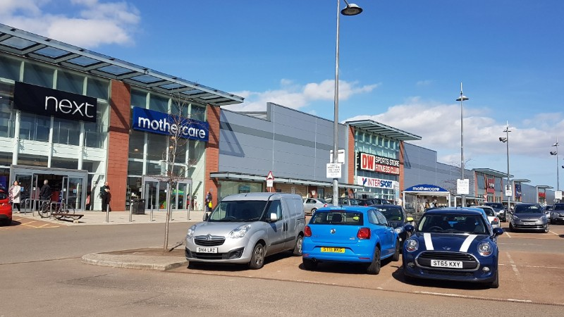 Gallagher Retail Park, Dundee