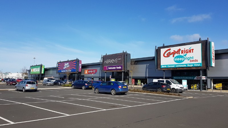 Shops at Halbeath Retail Park, Dunfermline