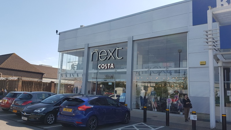 Next store at White Lion Retail Park