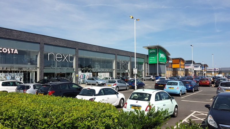 Stores at Enfield Retail Park