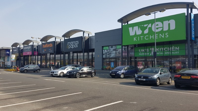 Stores at Team Valley Retail World, Gateshead