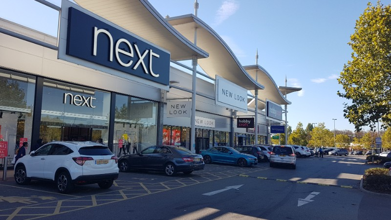 Shops at Westway Cross Retail Park, Greenford