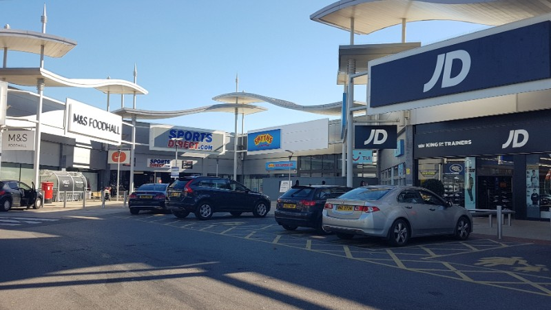 Shops at Westway Cross Retail Park, Greenford