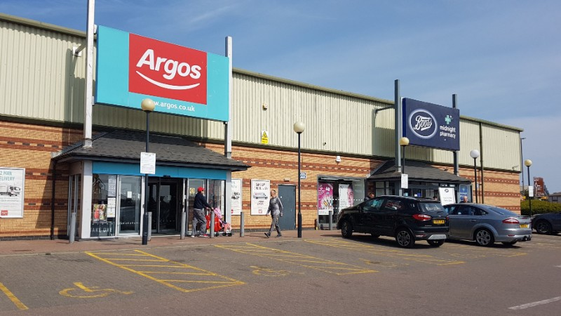Argos and Boots at Anchor Retail Park, Hartlepool