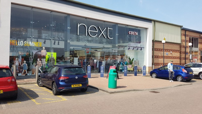 Next store at Anchor Retail Park, Hartlepool