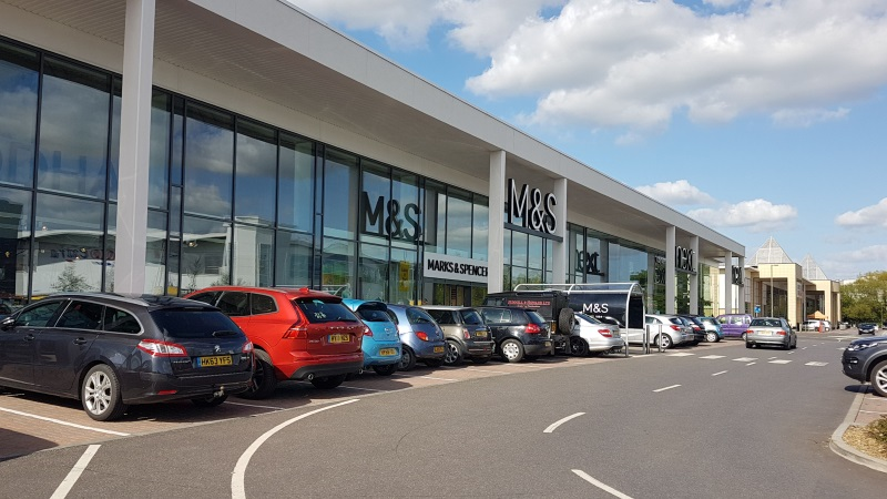 Marks and Spencer at Solent Retail Park