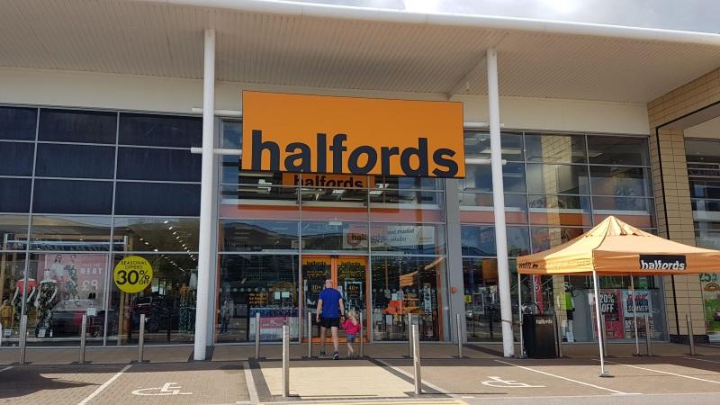 Halfords at Solent Retail Park