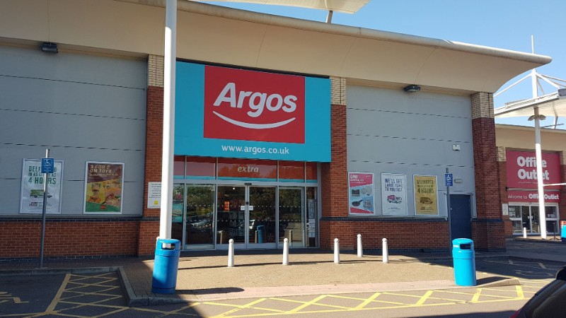 Argos store at Hayes Bridge Retail Park