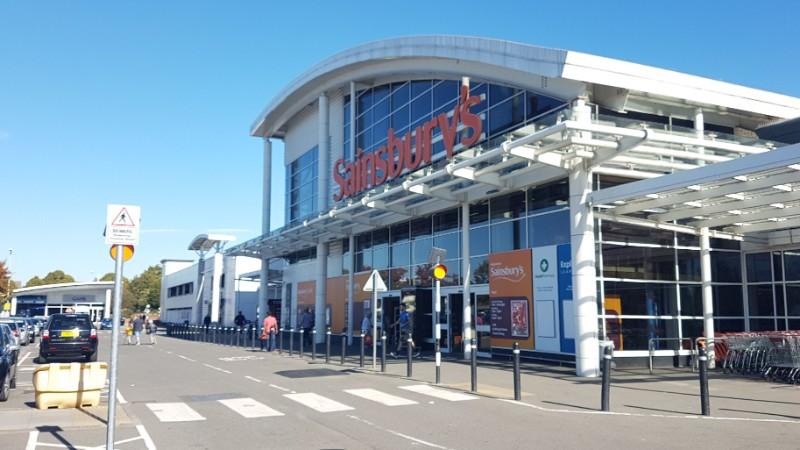 Sainsbury's at Lombardy Shopping Park