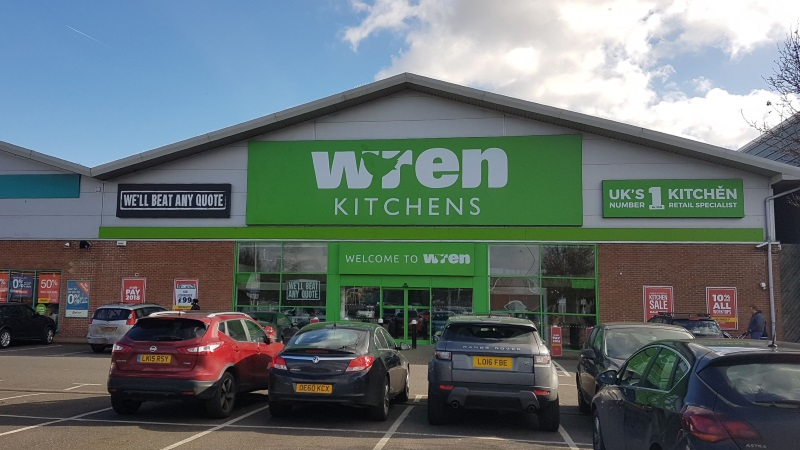 Wren Kitchens at Apsley Mills Retail Park