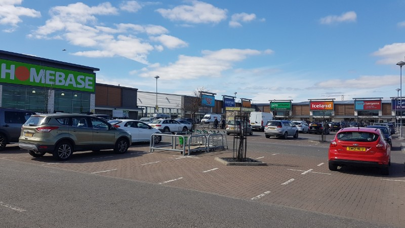 Shops at Inverurie Retail Park