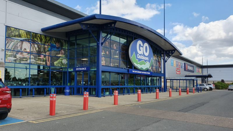 Go Outdoors at Anglia Retail Park, Ipswich