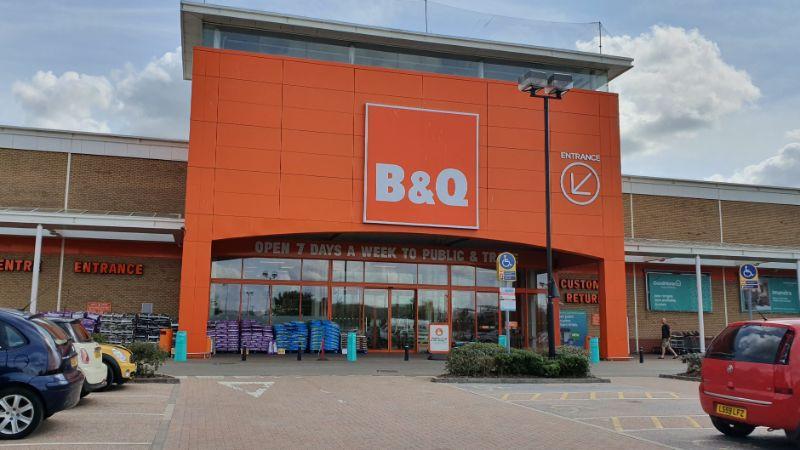 B&Q at Euro Retail Park, Ipswich