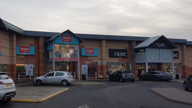 Argos and Next stores at Kettering Retail Park