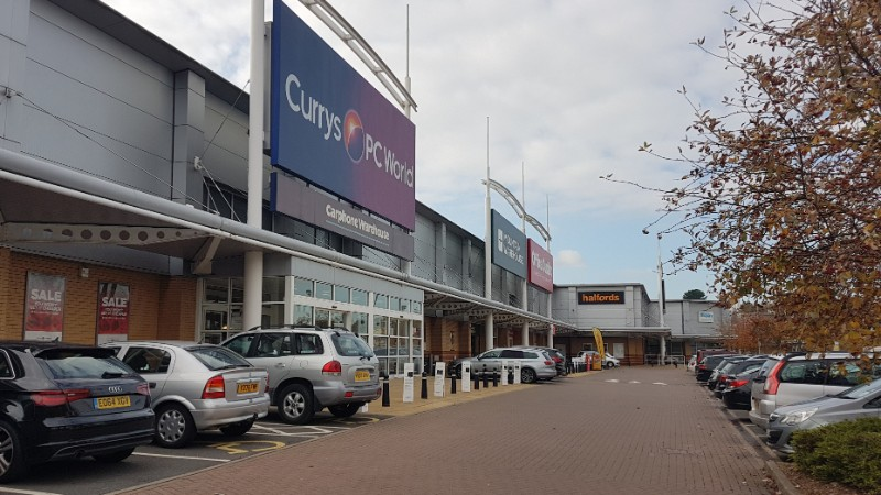 Shops at Crossley Retail Park, Kidderminster