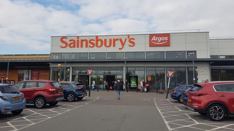 Sainsbury's at Crossley Retail Park, Kidderminster