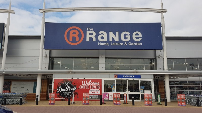 The Range at Crossley Retail Park, Kidderminster