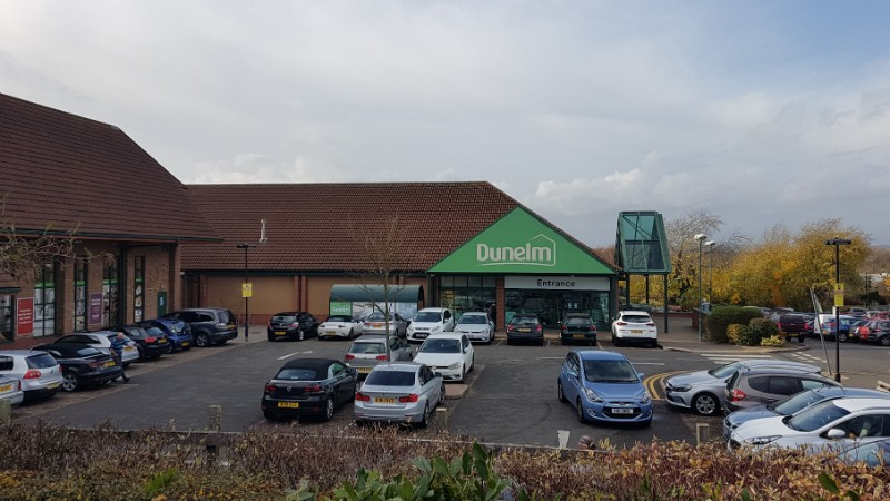 Dunelm store at Thurmaston Shopping Centre, Leicester