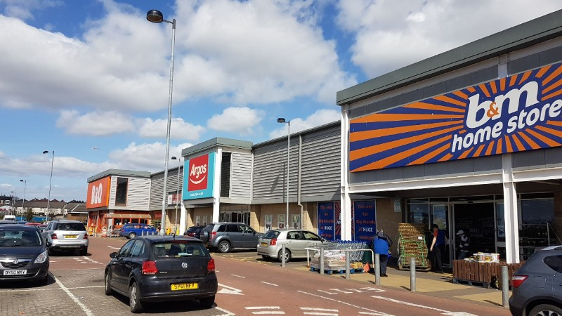 Shops at Riverside Retail Park, Leven