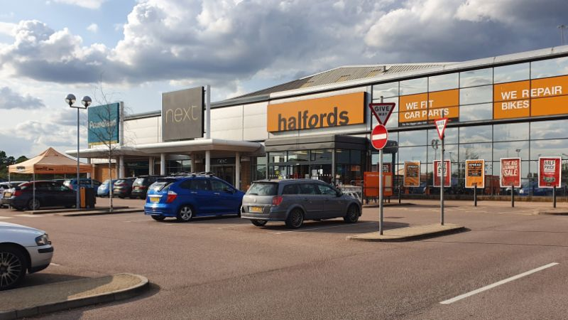 North Quay Retail Park, Lowestoft