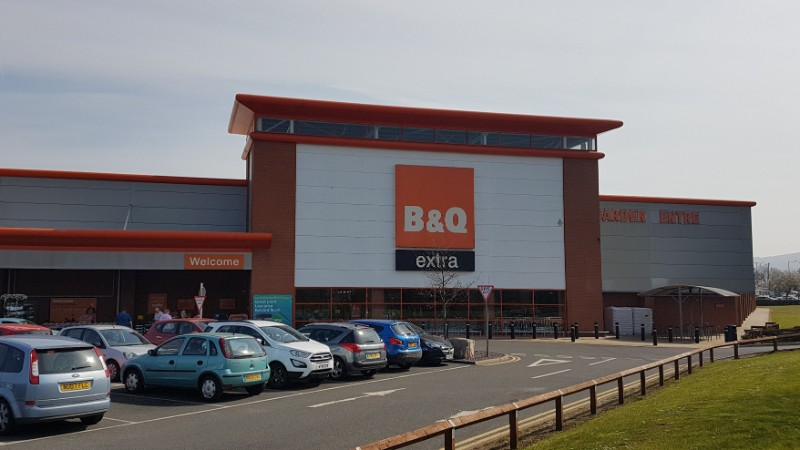 B&Q at Cleveland Retail Park, Middlesbrough